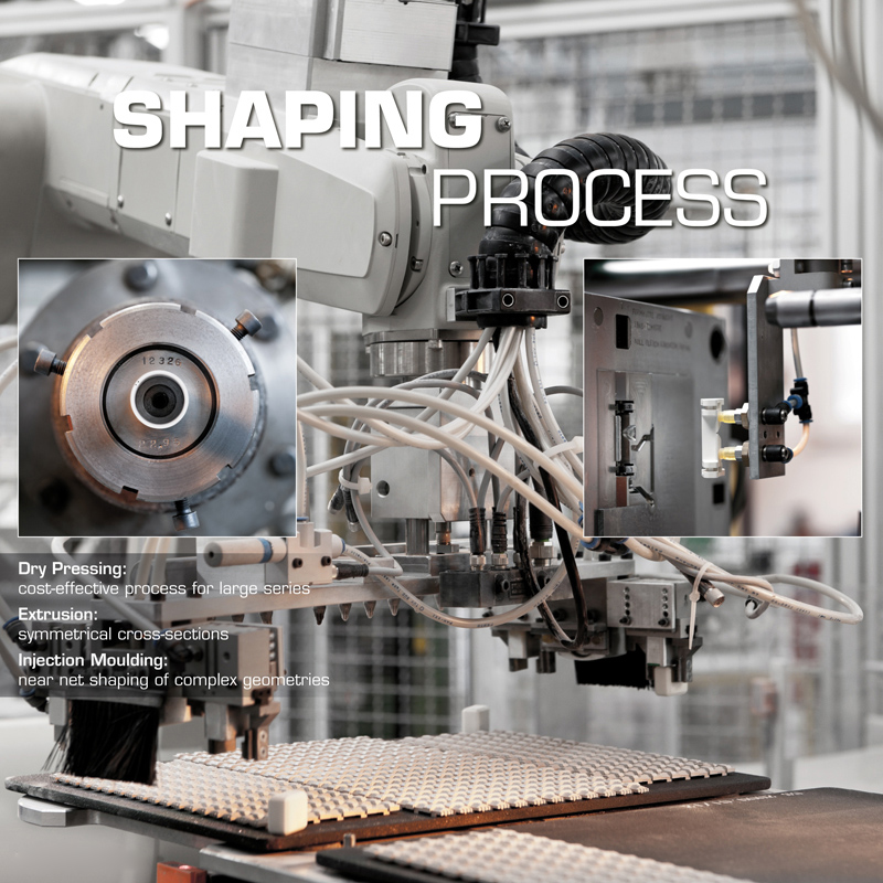 shaping process