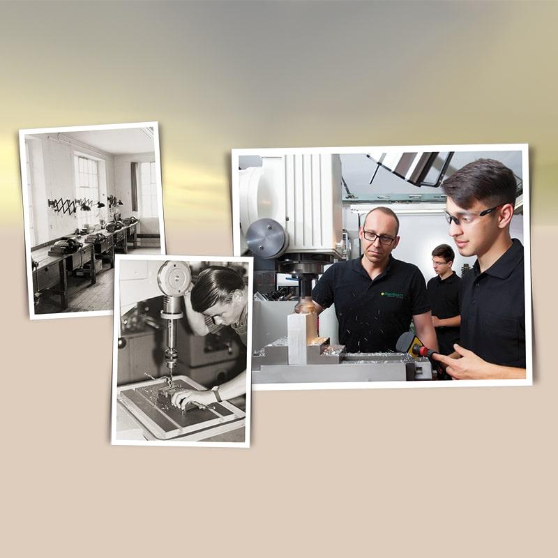 collage 50 jahre azubiwerkstatt